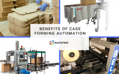 Case Forming Automation Benefits for Fulfillment Operations