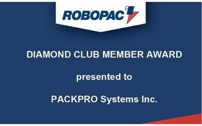 Pallet Wrapping Equipment Leader Recognizes PACKPRO with an Award
